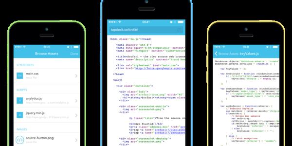【iOS】ウェブサイトのソースを閲覧できる[Srcfari]はウェブデザイナーの方にお勧めの神アプリです。