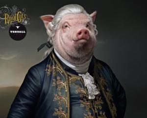 【ADS】リアルな動物たちがモチーフの[Tendall Grill]のクリエイティブな広告