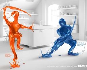 【ADS】「色」はアナタの想像以上に強力だ。ペンキや塗装技術を扱う[Hempel]の広告。