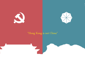 香港と中国は違う! 匿名のデザイナー集団が作った25枚のイラスト。