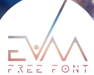 【Font】近未来っぽいフリーフォント[EVAA]がカッコいい!