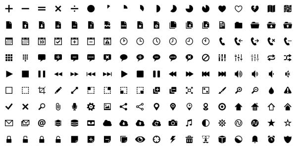 【Design】シンプルなデザインのアイコンセット[subway]が無料でダウンロード可能です。