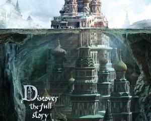 【ADS】モスクワに現存する建築物を使った[シューセフ建築博物館]の幻想的な広告キャンペーン。