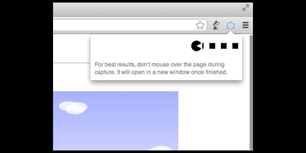 【Google Chrome】拡張機能「Full Page Screen Capture」でウェブサイト全体のスクリーンショットを撮影する。