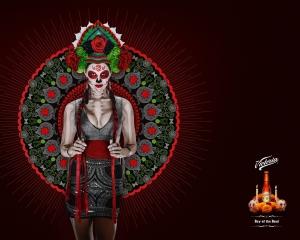 【ADS】メキシコのビール[Victoria]が禍々しい広告を展開しています。