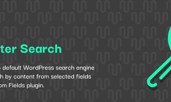 【WordPress Plugin】Advanced Custom Fields で作成したカスタムフィールドを検索対象に含める方法