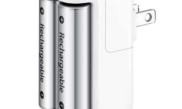 乾電池は[Apple Battery Charger]をオススメします。