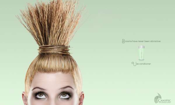 【ADS】メキシコの美容メーカー[CANIPEC]がヘア・コンディショナーを宣伝しています。