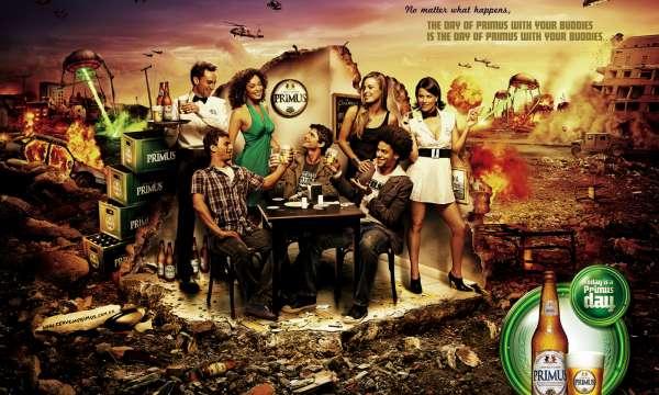 【ADS】ブラジルのビール[PRIMUS]のプロモーションが面白いので紹介します。