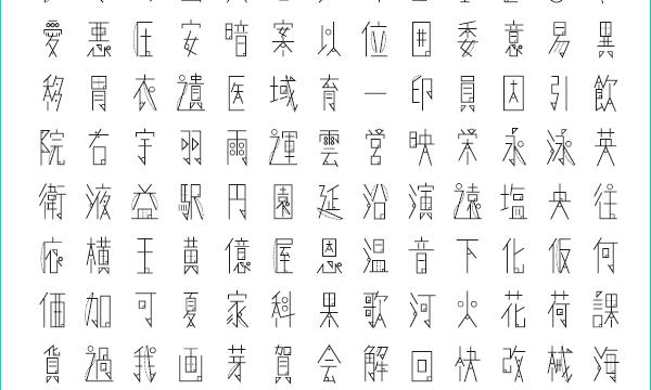 【Font】超個性的な理系フォント[数式フォント]を紹介します。