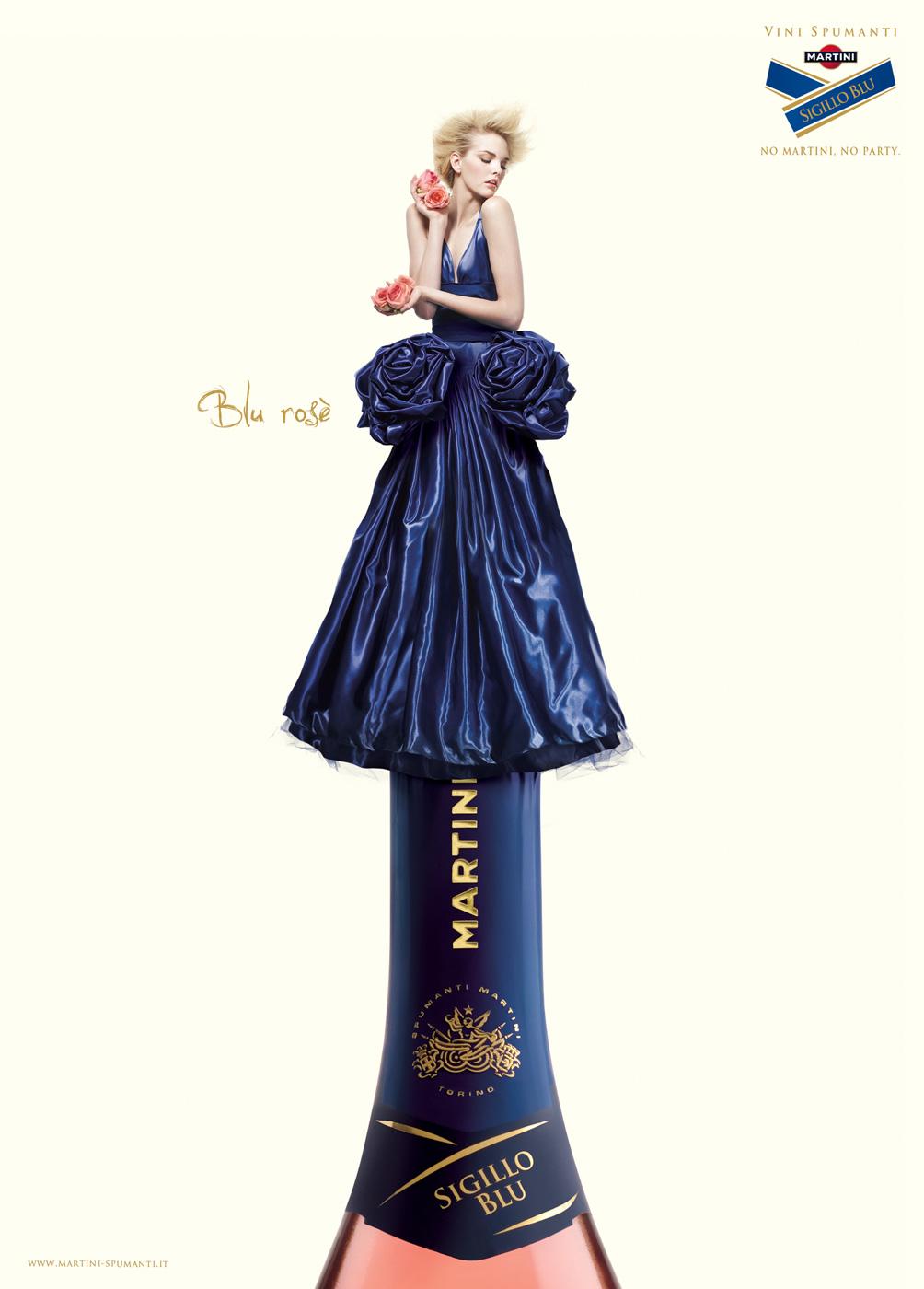 MARTINI : blu rose
