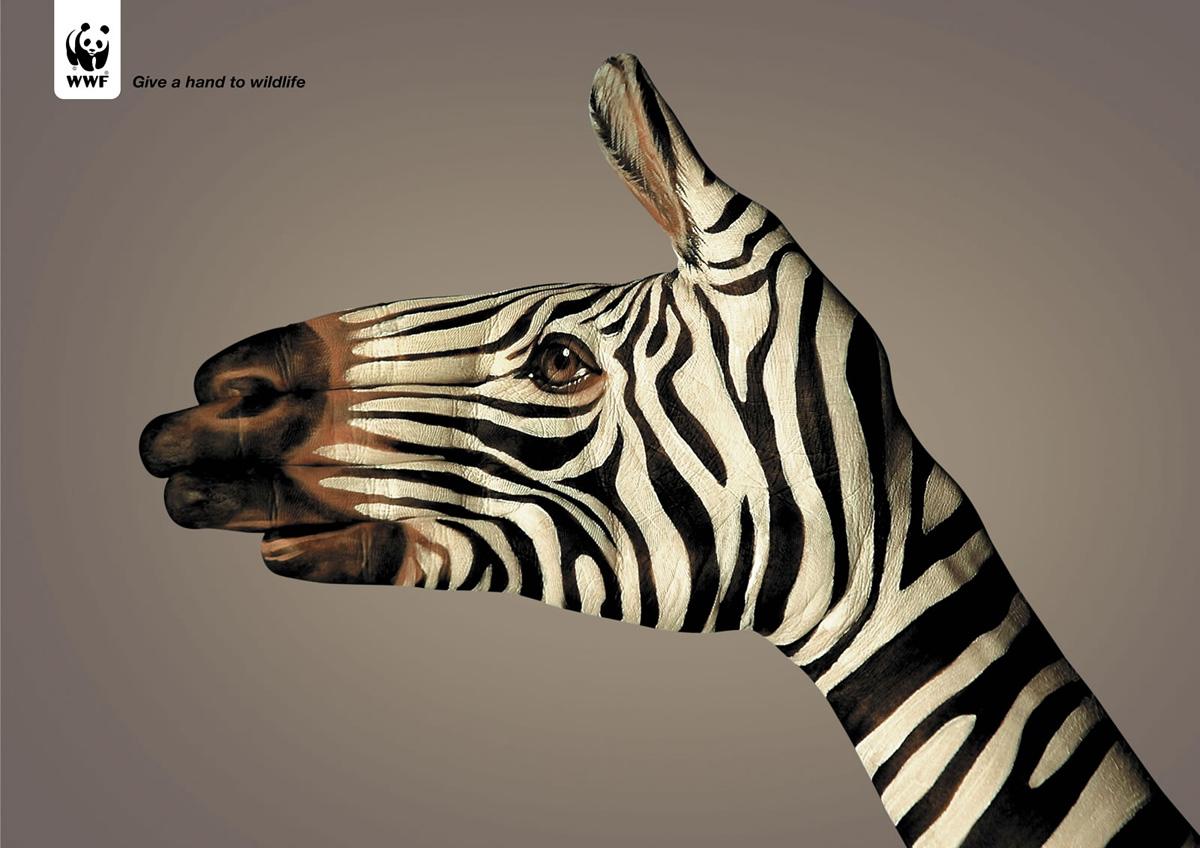 WWF シマウマ
