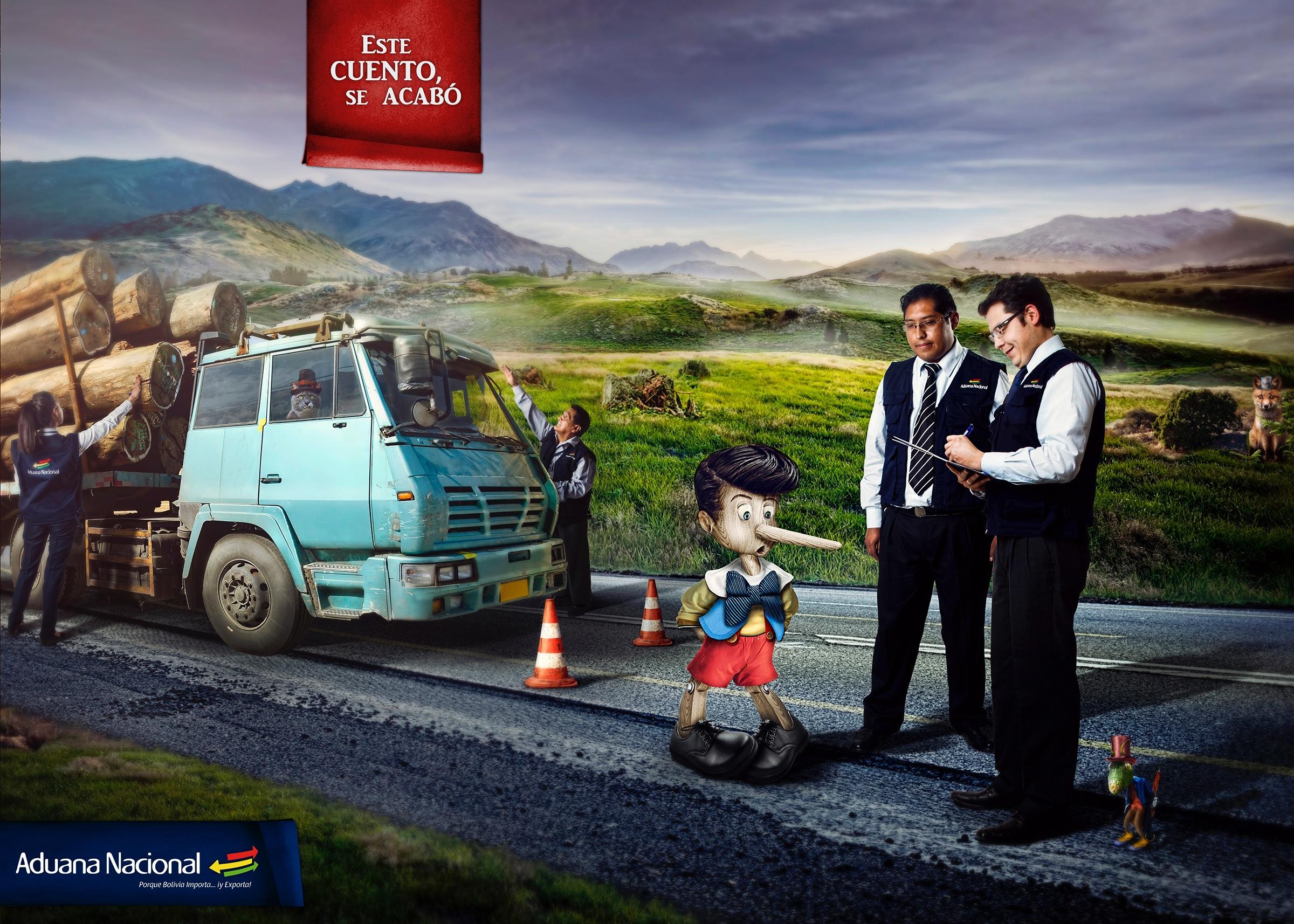 Aduana Nacional - ピノキオ