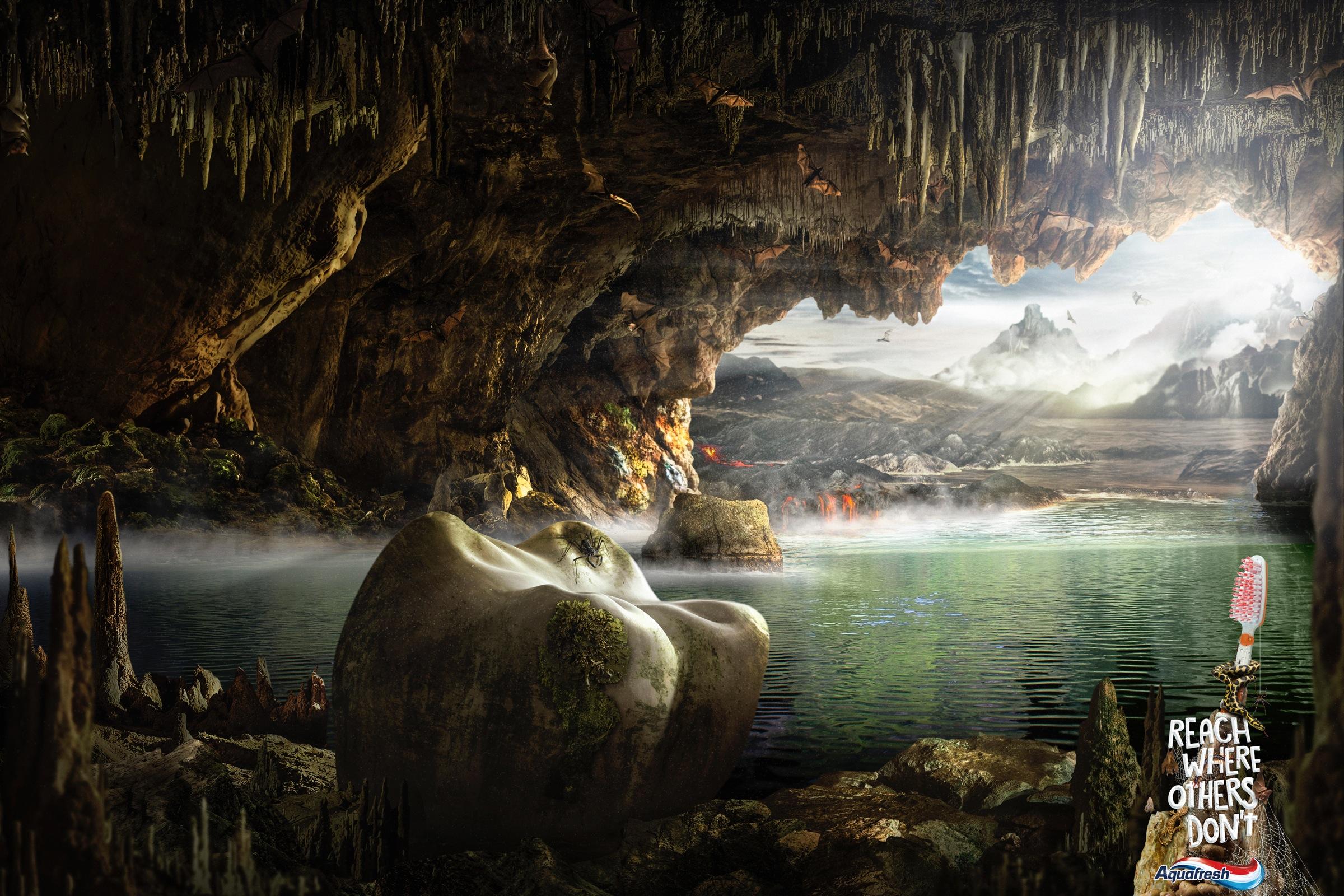 Aquafresh 洞窟