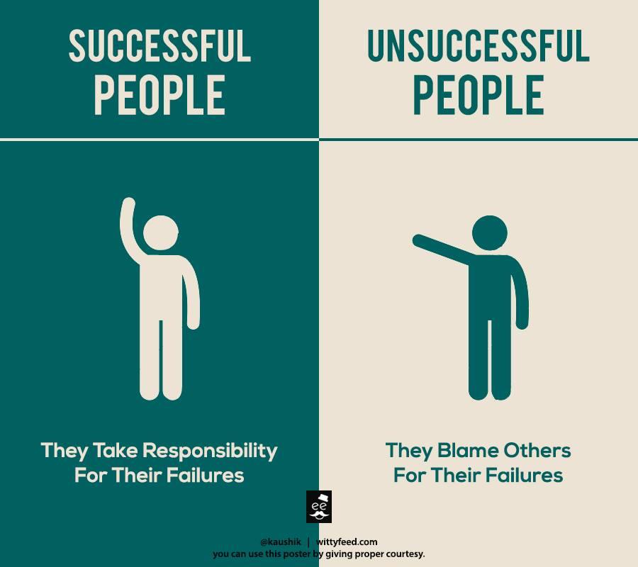 「成功する人」と「成功しない人」の7つの違い