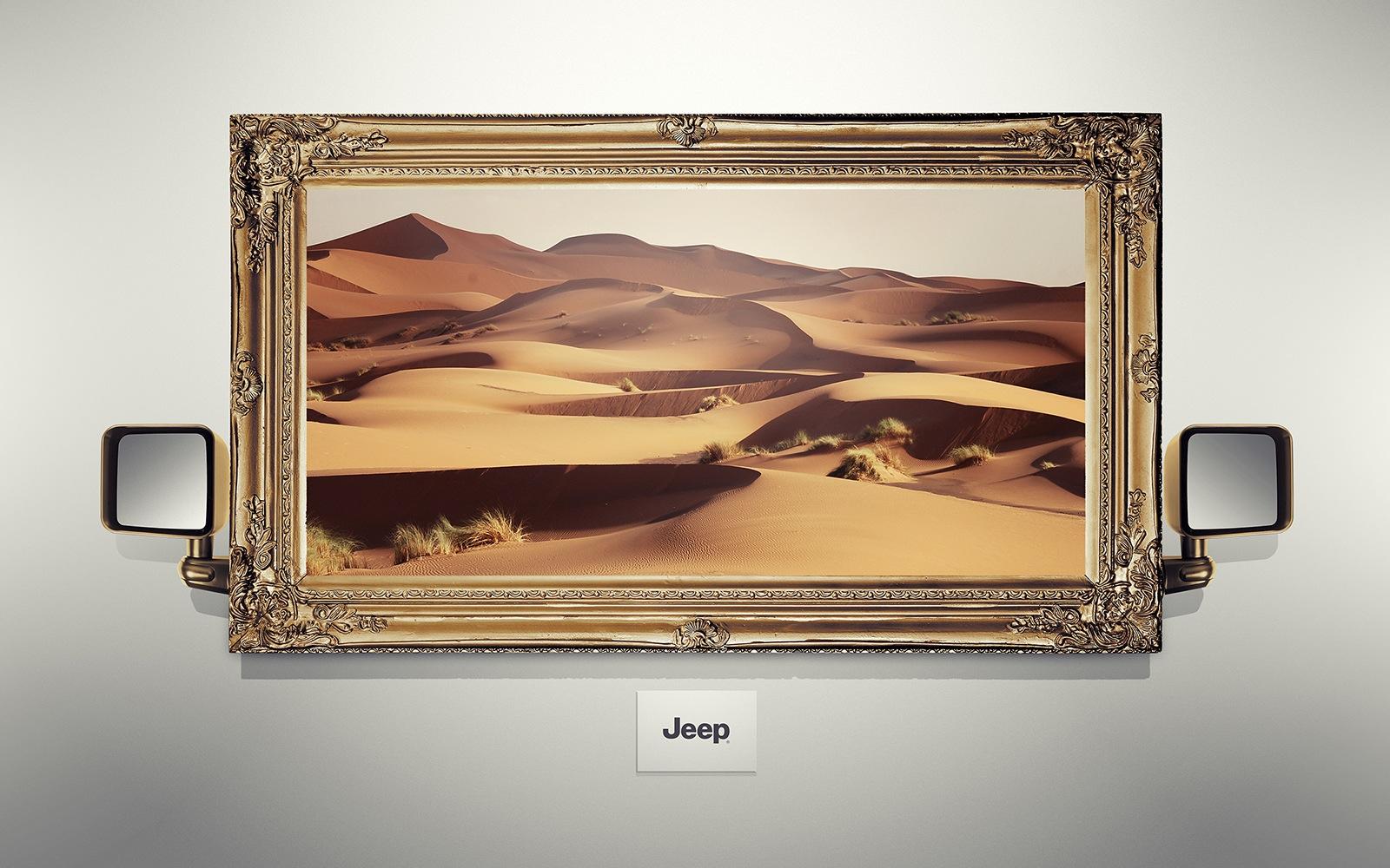 ジープ:砂漠