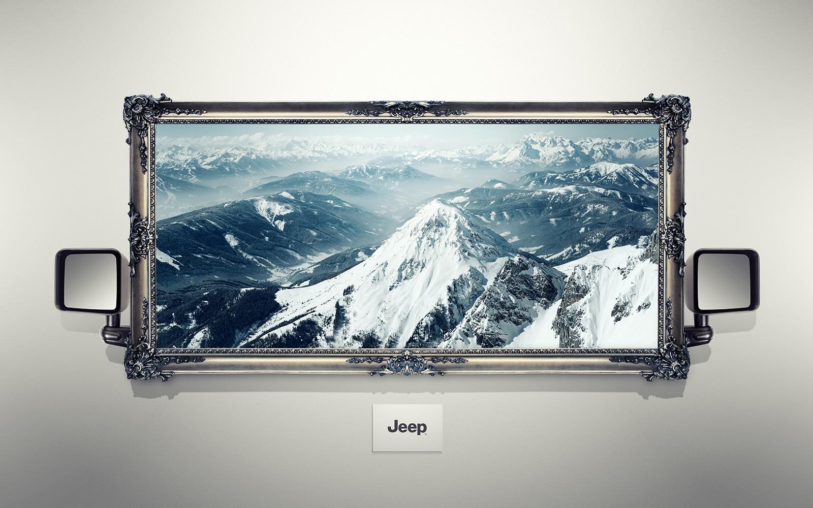 ジープ:山脈
