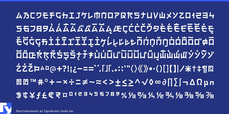 Font - Electroharmonix