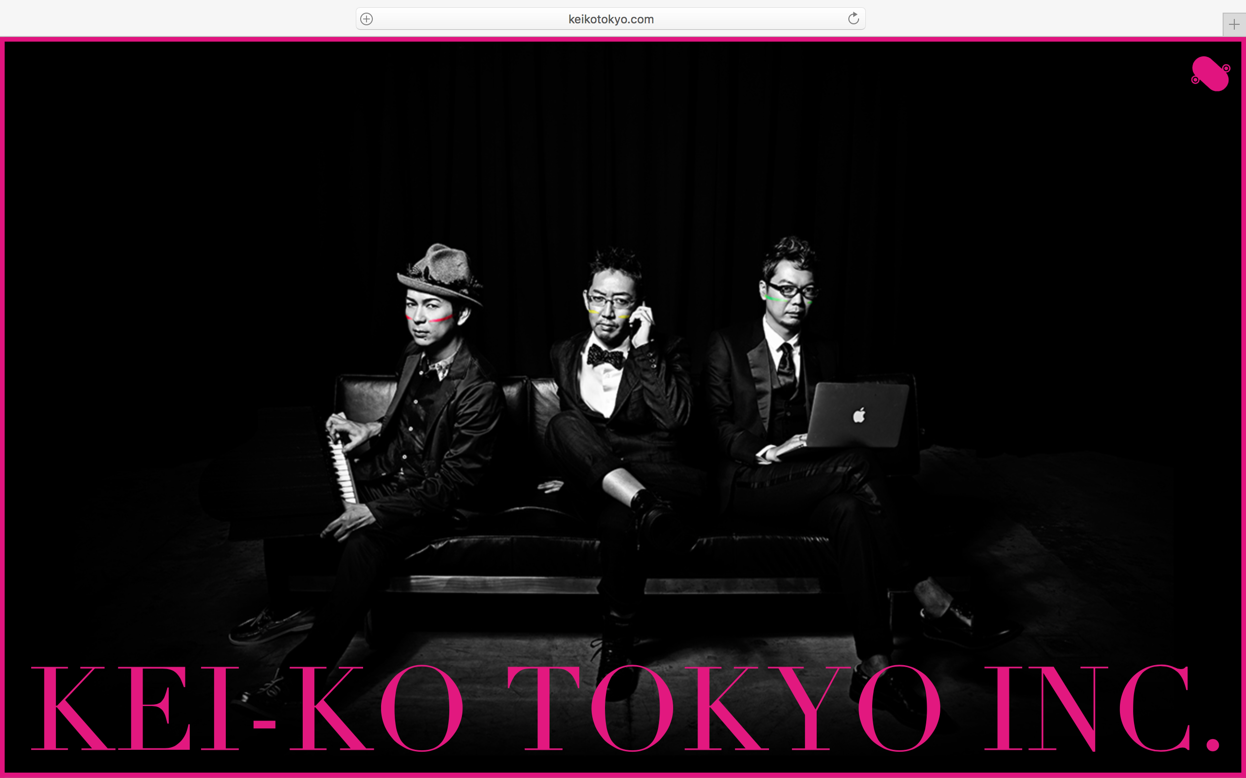 黒・ピンク - Black & Pink - 螢光TOKYO