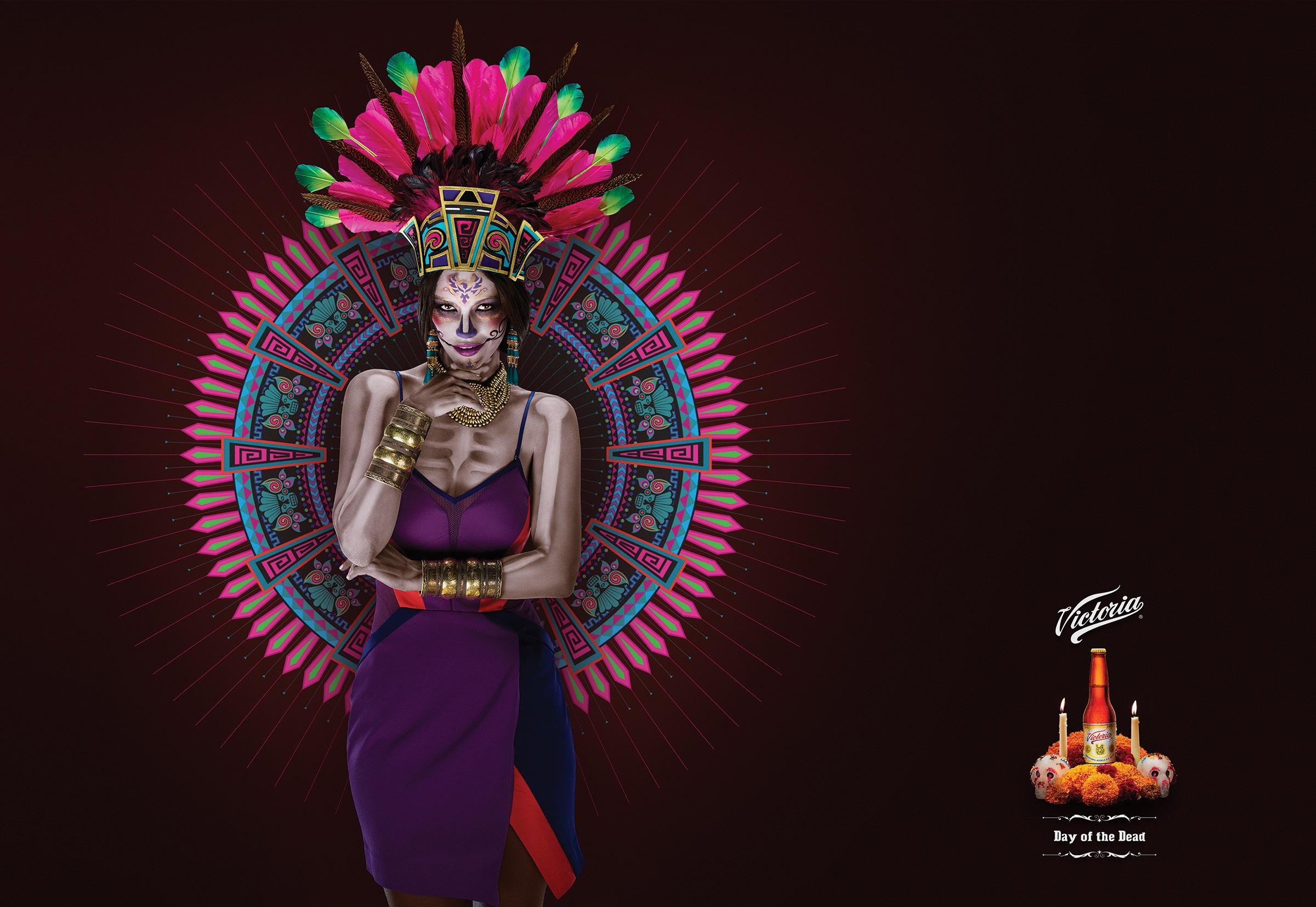 Victoria Catrina La Azteca