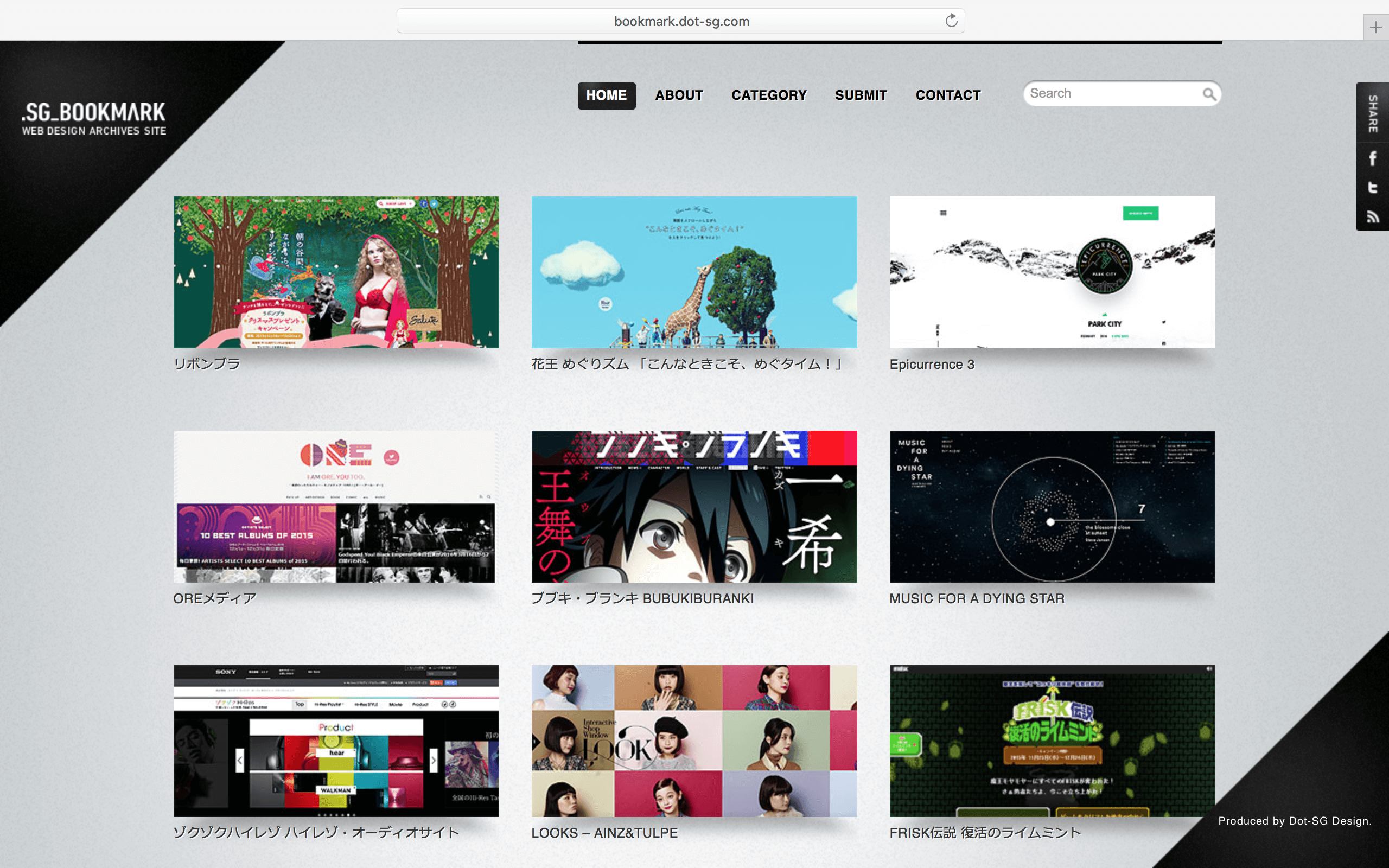 Web Design Gallery : .SG_BOOKMARK