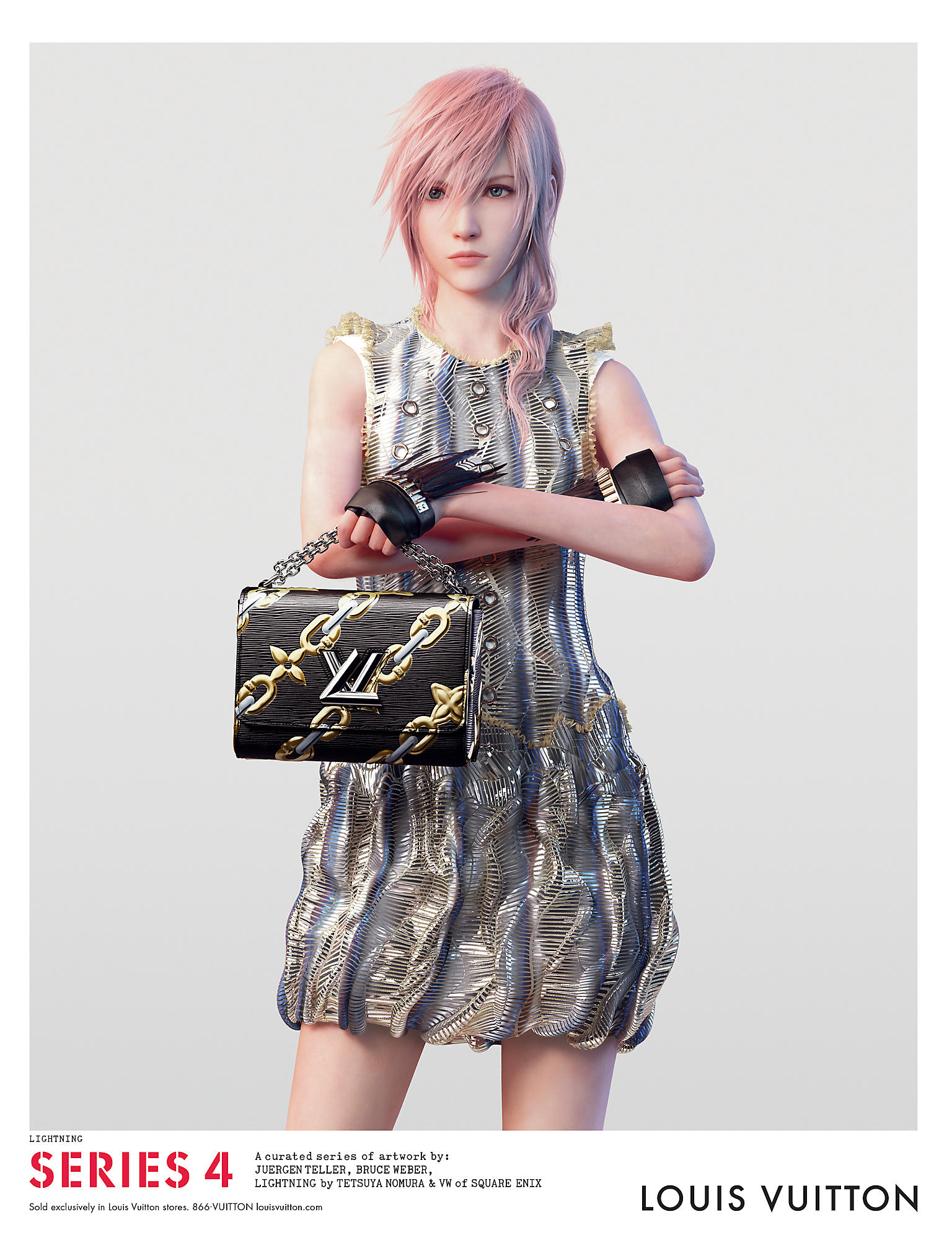Louis Vuitton Series 4 + Final Fantasy XIII