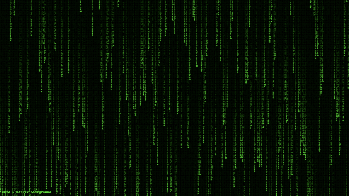 Canvas Matrix Background