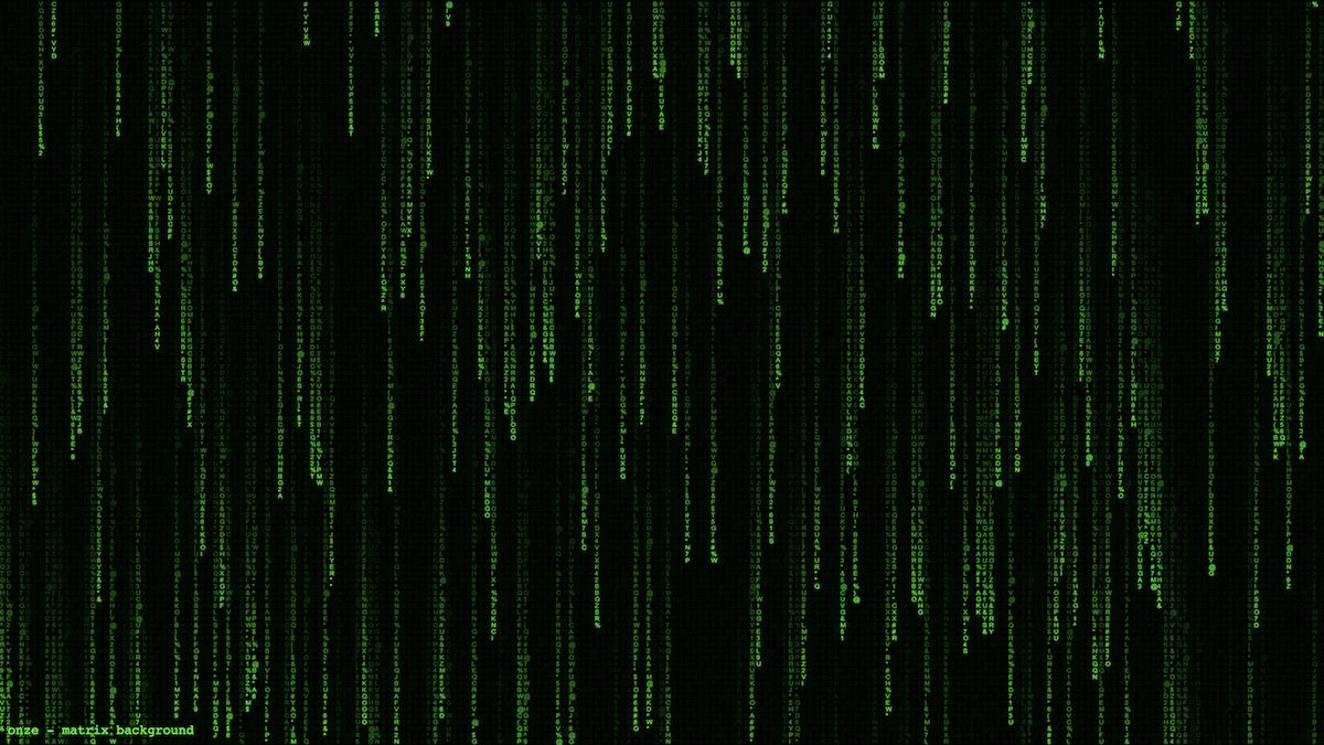 Canvas Matrix Background