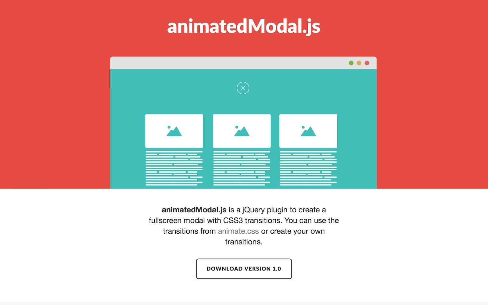 animatedModal.js